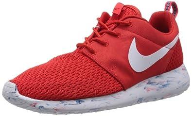Nike Mens Rosherun Running Shoes Red/White/Laser Crimson 669985-600 Size 9.5