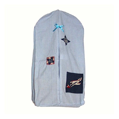 Patch Magic 12-Inch by 23-Inch Airplane Diaper Stacker - 1