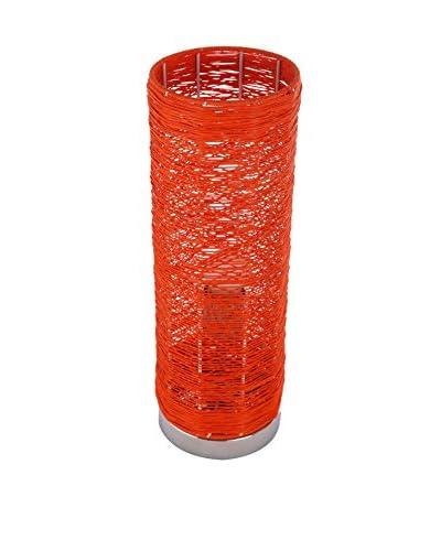 International Designs Bastion Table Lamp, Orange