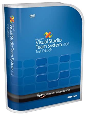 Microsoft Visual Studio Team System 2008 Test Edition Renewal [Old Version]