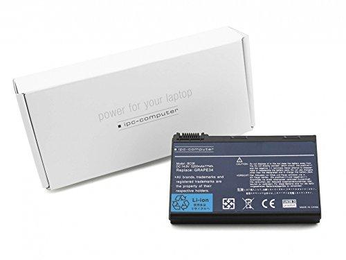 IPC-Computer Accumulateur compatible 5200 mAh pour Acer TravelMate 6460 Serie