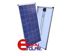 Solarmodul 100Watt Polykristallin Poly Solarpanel  Überprüfung und Beschreibung