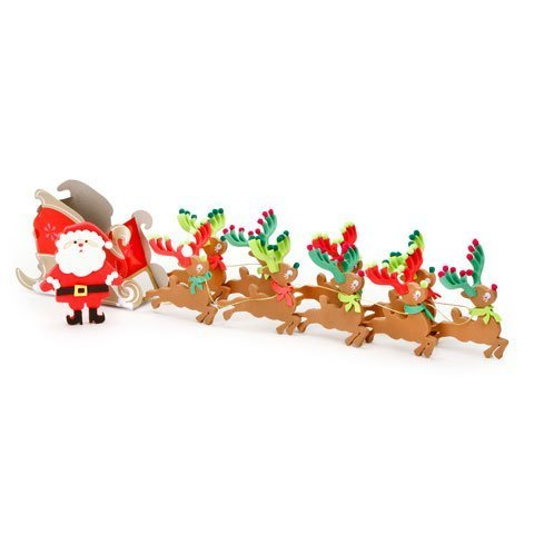 Foamies® Activity Bucket - Santa's Sleigh - 20 inches - Makes 1 - 1