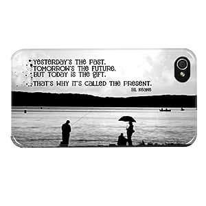 Hairyworm- Sprüche und Zitate iphone 4, 4s Harte hintere Kunststoff-Schutzhülle für das Handy