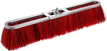 """Magnolia Brush 7018 LH Strip Brush, Medium Stiffness Synthetic Fiber Bristles, 3"""" Trim, 18"""" Length, Red/Black (Case of 12)"""