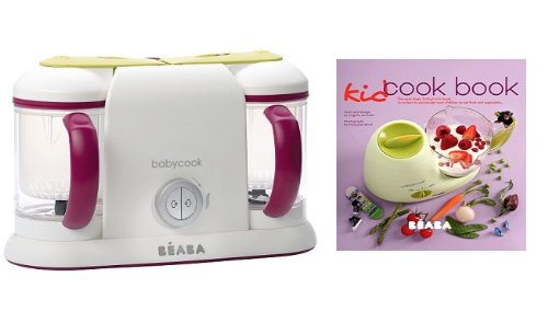 Beaba Babycook Duo Gypsy With Kid Cook Book