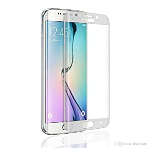 D'clair Premium Metal Tempered Glass Screen Protector for Samsung Galaxy Grand-Silver
