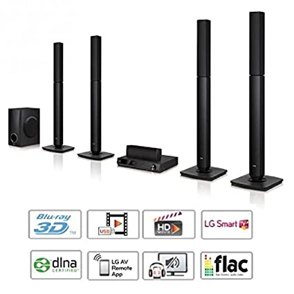 Lg bh5540t home-cinéma 5.1 - blu-ray full hd 3d - smart tv - 500w