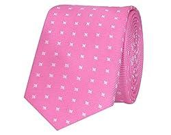 Tiekart Striped Men'S Tie (Skm114_Pink)