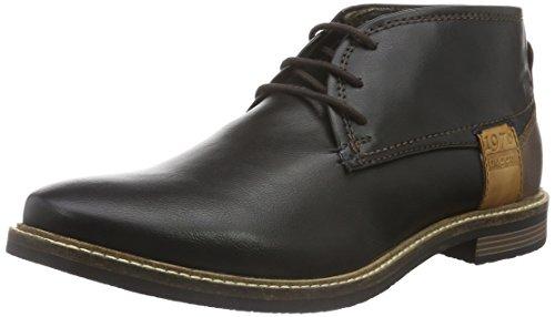 bugatti-f75326n-stivali-desert-boots-uomo-nero-schwarz-100schwarz-100-45-eu