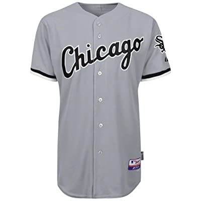 MLB Chicago White Sox Six Button Cool Base Authentic Road Jersey Men's