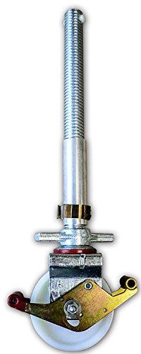 ALTEC-150-mm-Rolle-mit-Doppelbremshebel-und-Stahlspindel-fr-Rollfix-AluKlik-Gerste-4-Stck