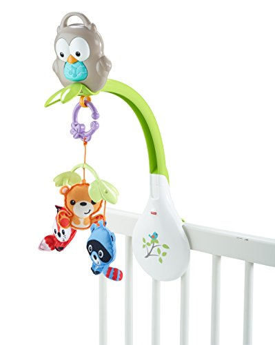 fisher price woodland friends 3 in 1 musical mobile baby. Black Bedroom Furniture Sets. Home Design Ideas