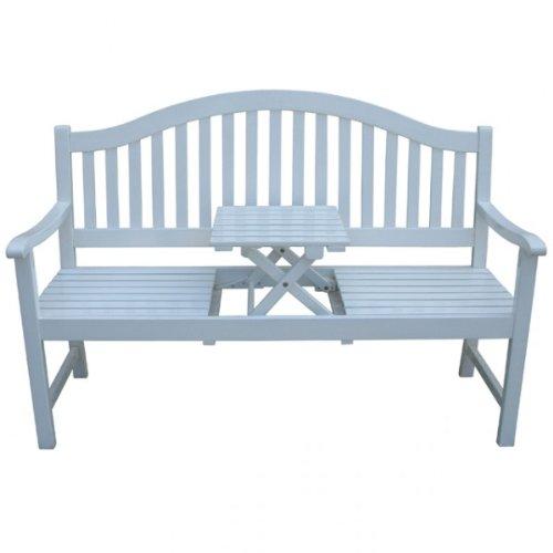 3-Sitzer-Gartenbank-PHUKET-mit-Tisch-Sitzbank-Akazie-Gartenmbel-Holz-wei-lackiert