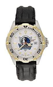 Dallas Mavericks Mens NBA All-Star Watch (Leather Band) by NBA Officially Licensed