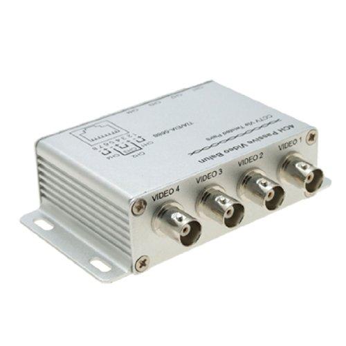 uxcell® UTP 4 Channel Passive Video Balun Transceiver