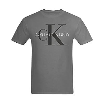 Welvga Men's Calvin Klein Classic Logo T-shirt