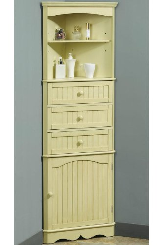 bathroom cabinets french country 24 5 w corner linen
