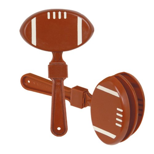 Football Clapper Party Accessory (1 count) (1/Pkg)