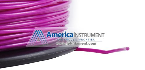 Jet - ABS (3mm, Purple color, 1.0kg =2.204lbs) Filament on Spool for 3D Printer MakerBot RepRap MakerGear Ultimaker & Up!