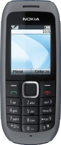 Nokia 1616 Handy (UKW-Radio, Farbdisplay, Flashlight) ohne Vertrag, ohne Branding, kein Simlock, dark grey