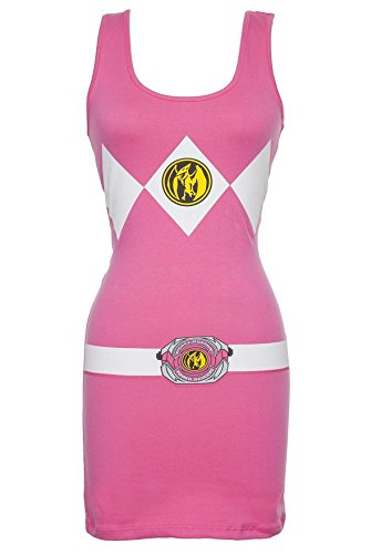 Power Rangers Costume Tank Dress Pink