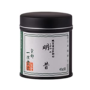 Kyoto Ippodo Authentic Matcha Green Tea Sayakano-Mukashi 40g (Japan Import)