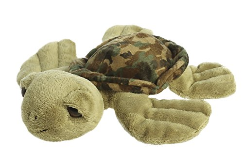 Aurora 0 World Camo Green Turtle Plush