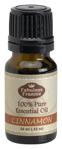 CINNAMON LEAF 100% Pure, Undiluted Essential Oil Therapeutic Grade - 10 ml. Great for Aromatherapy!