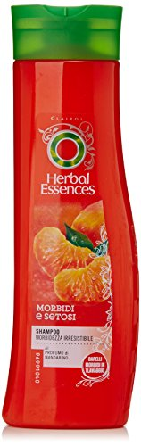 Herbal Essences - Shampoo Morbidezza Irresistibile, al Profumo di Mandarino - 250 ml