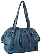 Hot Sale Kooba Chris KS13014-72 Satchel,Denim,One Size