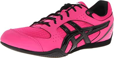 ASICS Women's Rhythmic 2 Cross-Training Shoe,Hot Pink/Black/White,5 M US