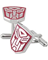 Transformers Optimus Prime Cufflinks Red and Silver