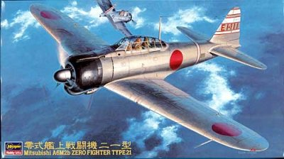1/48三菱 A6M2b 零式艦上戦闘機 21型