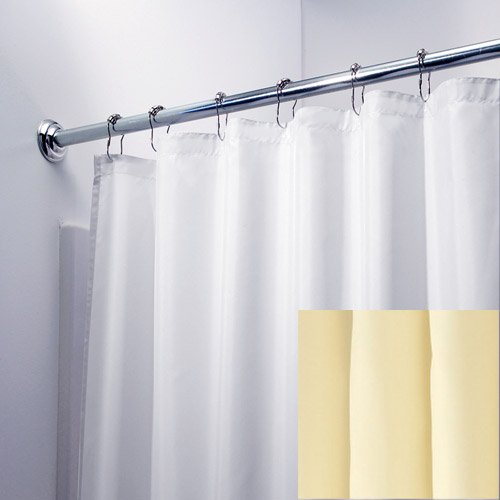 long champagne waterproof nylon fabric shower curtain liner review