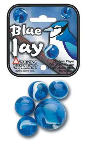 Blue Jay Marble Set