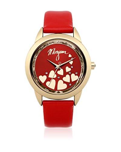 Morgan de Toi Reloj de cuarzo Woman M1164R Rojo 35 mm
