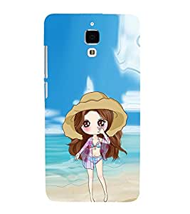 EPICCASE sexy doll Mobile Back Case Cover For Xiaomi Mi4 (Designer Case)