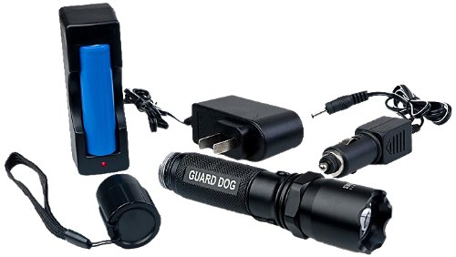 Guard Dog Security 240 Lumen Rechargeable Tactical Flashlight