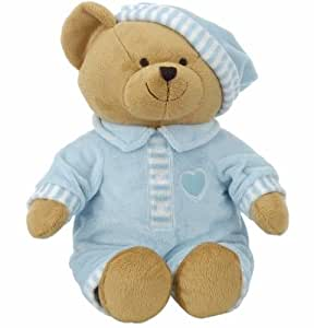 Animal Alley ~ Bear in Pajamas ~ Blue 15 inch