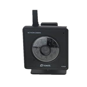 Tenvis Mini319W wireless ip camera MJPEG night vision black DDNS Remote view