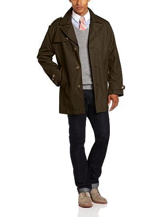 伦敦雾 London Fog Men's Soho All Weather Coat 男士长款风衣3色折后$59.99