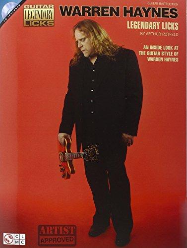 Haynes Warren Legendary Licks Gtr Bk/CD (Guitar Legendary Licks)