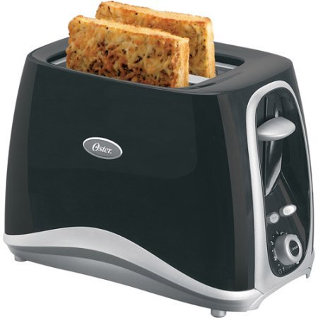 Oster Inspire 2-Slice Toaster, Black . Features Advanced Toasting Technology For Consistent, Even Toasting.