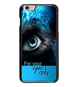 PrintDhaba Quote D-5938 Back Case Cover for APPLE IPHONE 6 PLUS (Multi-Coloured)