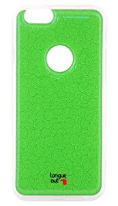 Tongue Out iStick Mobile Phone Case & Anti - Shock Screen Protector - For Apple iPhone 6s / 6 - Colour - Green