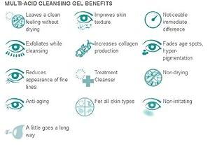 NCN Pro Skincare Multi-Acid Cleansing Gel (8.5 oz.) by NCN Pro Skincare