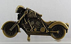 Designer Butane Jet Flame Ghost Rider Bike Cigarette Lighter Show Piece For Office or Home-LIT151