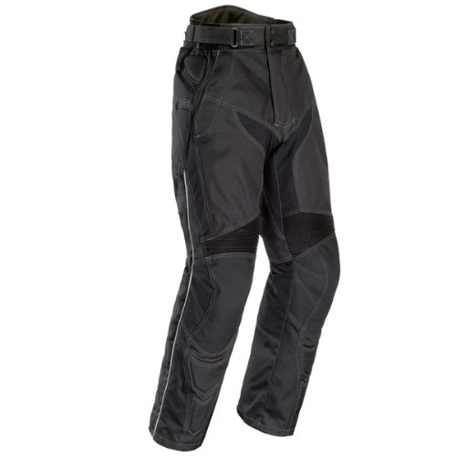 Tour Master Caliber Men'S Textile Street Racing Motorcycle Pants - Black / Large