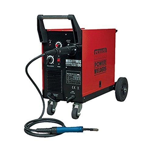 Sealey MIGHTYMIG190 Professional MIG-Schweißgerät, Betrieb mit / ohne Gas, 190A, Euro Schweißbrenner online bestellen